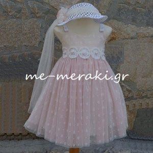 Βαπτιστικά ρούχα κορίτσι ΒΦΚ28