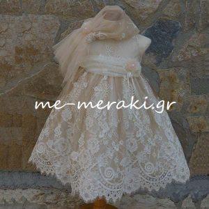Βαπτιστικά ρούχα κορίτσι ΒΦΚ38
