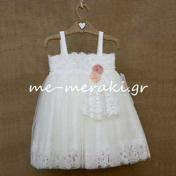 bb3150451714 Βαπτιστικά Φορέματα Κορίτσι | Ρούχα βάπτισης κορίτσι | me-meraki.gr