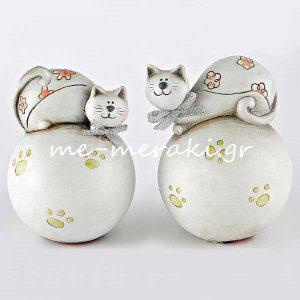 Γάτες σε Μπάλα για Μπομπονιέρες