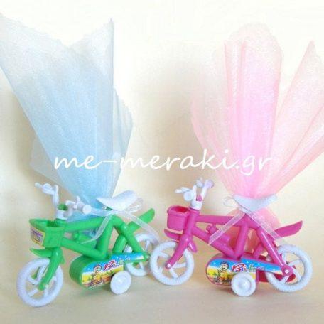 Μπομπονιέρα Ποδήλατο με κίνηση
