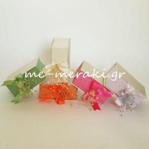 Μπομπονιέρα Γάμου Κουτί Κρυσταλλάκια
