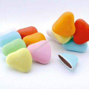 Κουφέτα Καρδιά Πολύχρωμα
