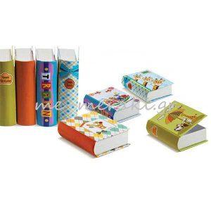 Κουτιά Βιβλία με Σχέδια