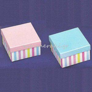 Κουτιά Ριγέ για Μπομπονιέρες
