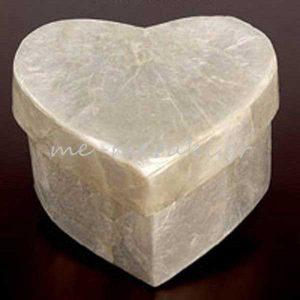 Κουτί Καρδιά Φίλντισι για Μπομπονιέρες