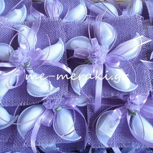 Μπομπονιέρα Γάμου Λινάτσα Λ017-Β