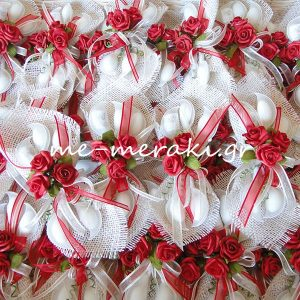 Μπομπονιέρα Γάμου Λινάτσα Λ03-Β