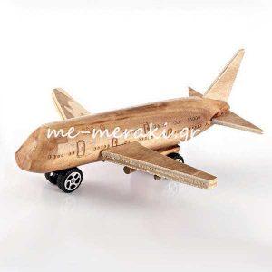 Αεροπλάνο Ξύλινο για Μπομπονιέρες