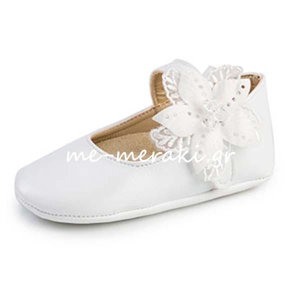 f990e431413 Παπούτσια Αγκαλιάς Κορίτσι ΠΑΚΟ1030 | Παπούτσια βάπτισης κορίτσι