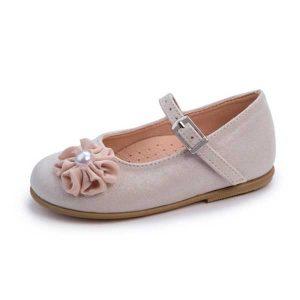 Παπούτσια με Λουλούδι και Πέρλα