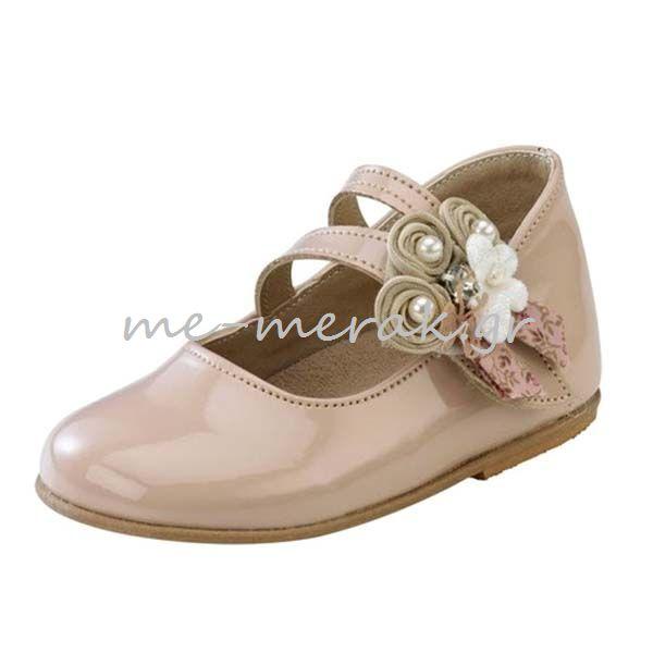 1450169421b Παπούτσια Βάπτισης Κορίτσι ΠΑΚΟ15   Παπούτσια βάπτισης   me-meraki.gr
