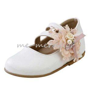 Παπούτσια με Λουλούδι Κορίτσι