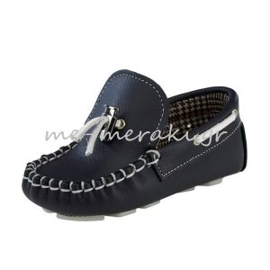 Παπούτσια Βάπτισης Μοκασίνι Αγόρι