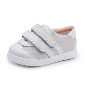 Παπούτσια Βάπτισης με Κούμπωμα