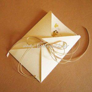 Προσκλητήριο Γάμου Ανακυκλωμένο Χαρτί