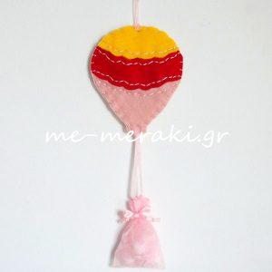 Μπομπονιέρα Βάπτισης Αερόστατο ΤΚ026