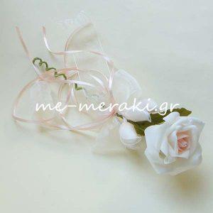 Μπομπονιέρα Γάμου Λουλούδι ΤΚ047-Β