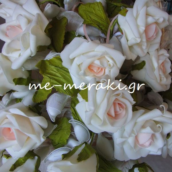 30ea466b08f8 Μπομπονιέρες Γάμου Λουλούδι Δίχρωμο ΤΚ047-Β