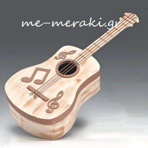 Κουτί - Κιθάρα για Βαπτιστικά