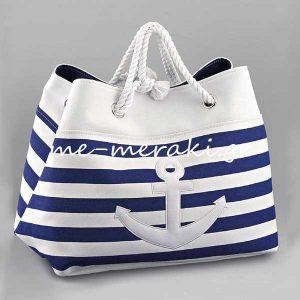Τσάντα Ναυτική για Βαπτιστικά