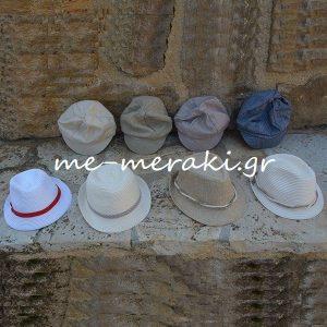 Βαπτιστικά ρούχα αγόρι Καπέλα