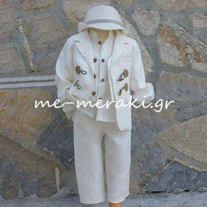 Βαπτιστικά ρούχα αγόρι ΒΚΑ30