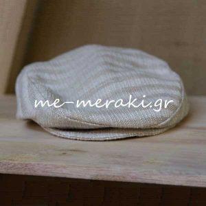 Βαπτιστικό Καπέλο Τραγιάσκα