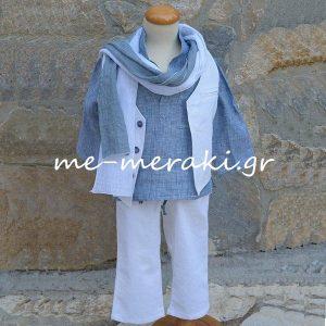 Βαπτιστικά ρούχα αγόρι ΒΚΑ49