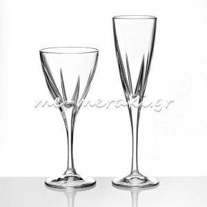 Ποτήρια Κρυστάλλινα Γάμου - Αρραβώνα