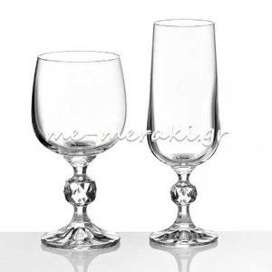 Ποτήρια Κρυστάλλινα Αρραβώνα - Γάμου