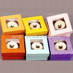 Κουτί Αρκουδάκι για Μπομπονιέρα