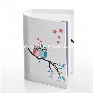 Κουτιά Βιβλίο Κουκουβάγια για Μπομπονιέρες