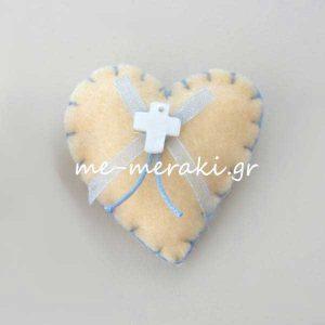 Μαρτυρικά Βάπτισης Καρδιά Τσόχα