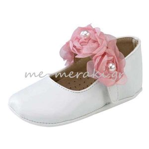 Παπούτσια Αγκαλιάς με Λουλούδια