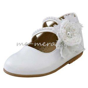 Παπούτσια Βάπτισης Κορίτσι ΠΑΚΟ25