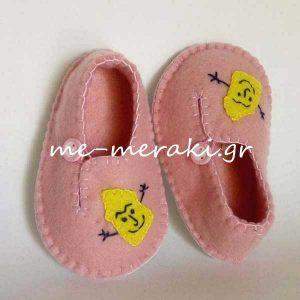 Βρεφικά Παπούτσια Ροζ