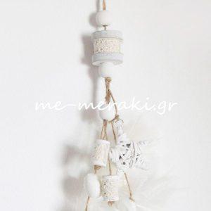 Μπομπονιέρα γάμου κρεμαστή ΤΚ023-Α