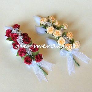 Μπομπονιέρα Γάμου Μπομπονιέρα Γάμου Τριανταφυλλάκια