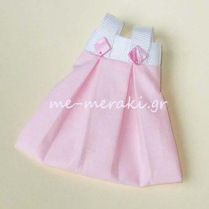 Μπομπονιέρα Βάπτισης Φόρεμα ΥΦ015