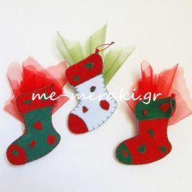 Μπομπονιέρες χριστουγεννιάτικα στολίδια