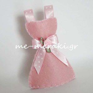 Μπομπονιέρα Φόρεμα Τσόχα Σατέν